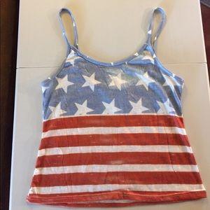Tops - America Flag Tank Top